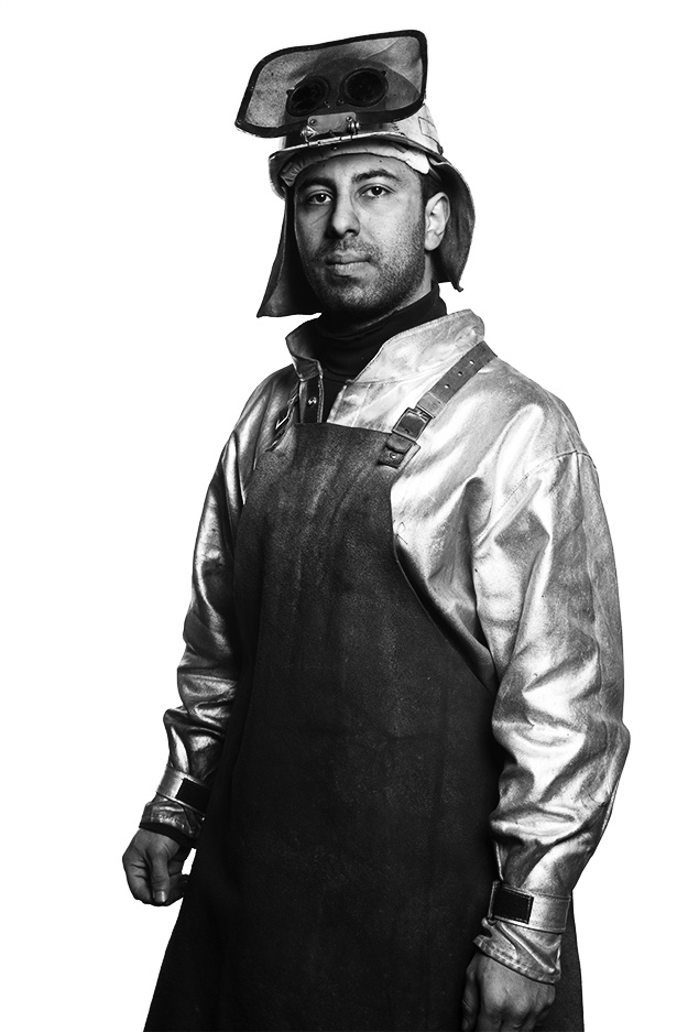 Steelworker Portaits